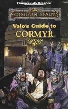 Volo's Guide to Cormyr (2e)
