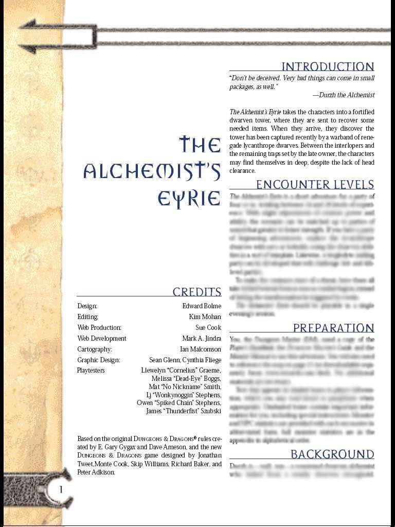 Cover of The Alchemist's Eyrie