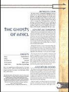 The Ghosts of Aniel (3.0)