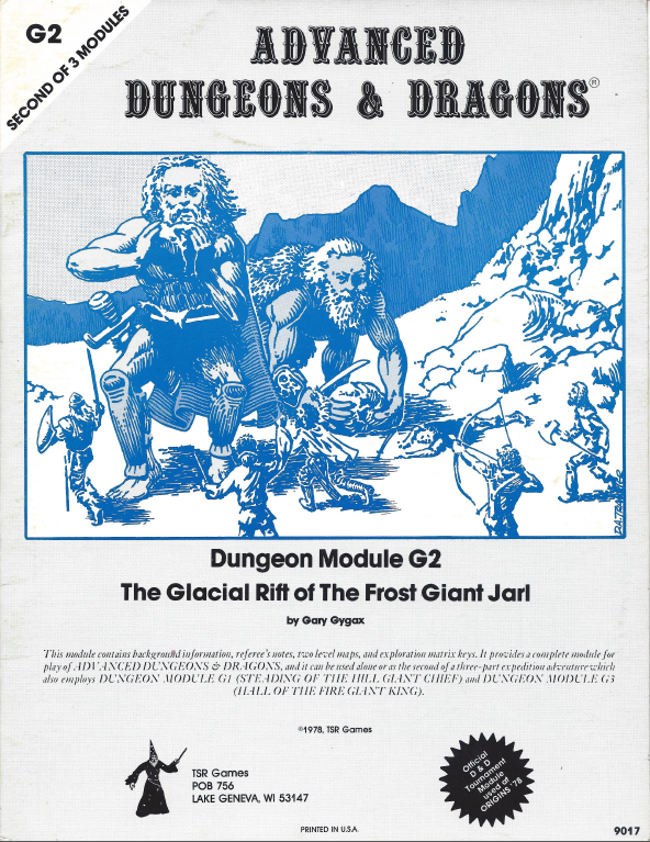 Cover of G2 The Glacial Rift of The Frost Giant Jarl