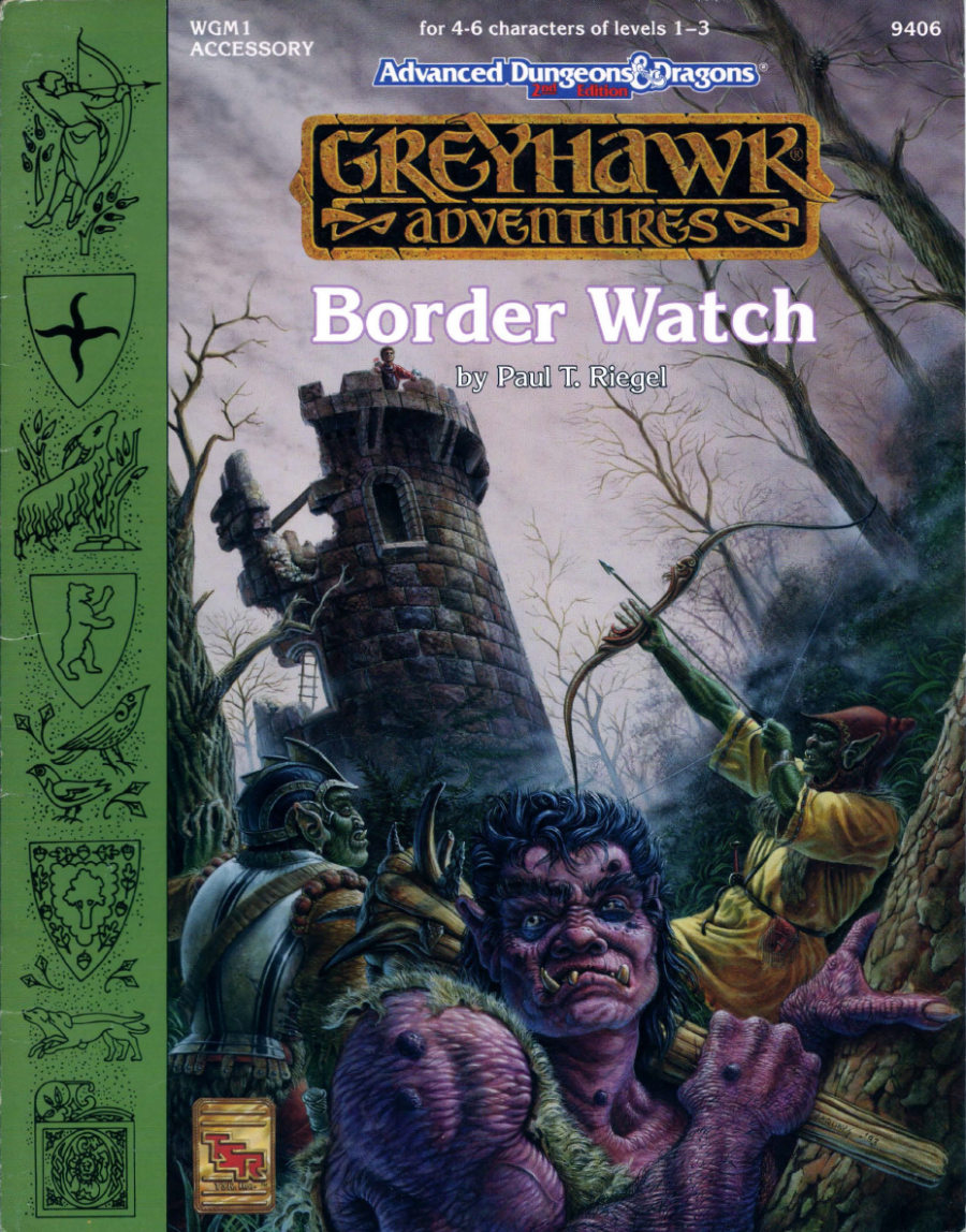 Cover of WGM1 Border Watch