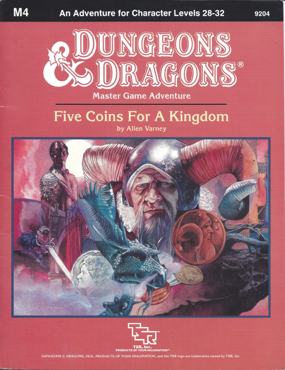 Cover of M4 Five Coins for a Kingdom