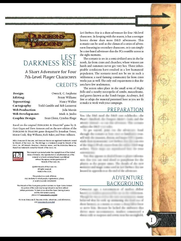 Cover of Lest Darkness Rise