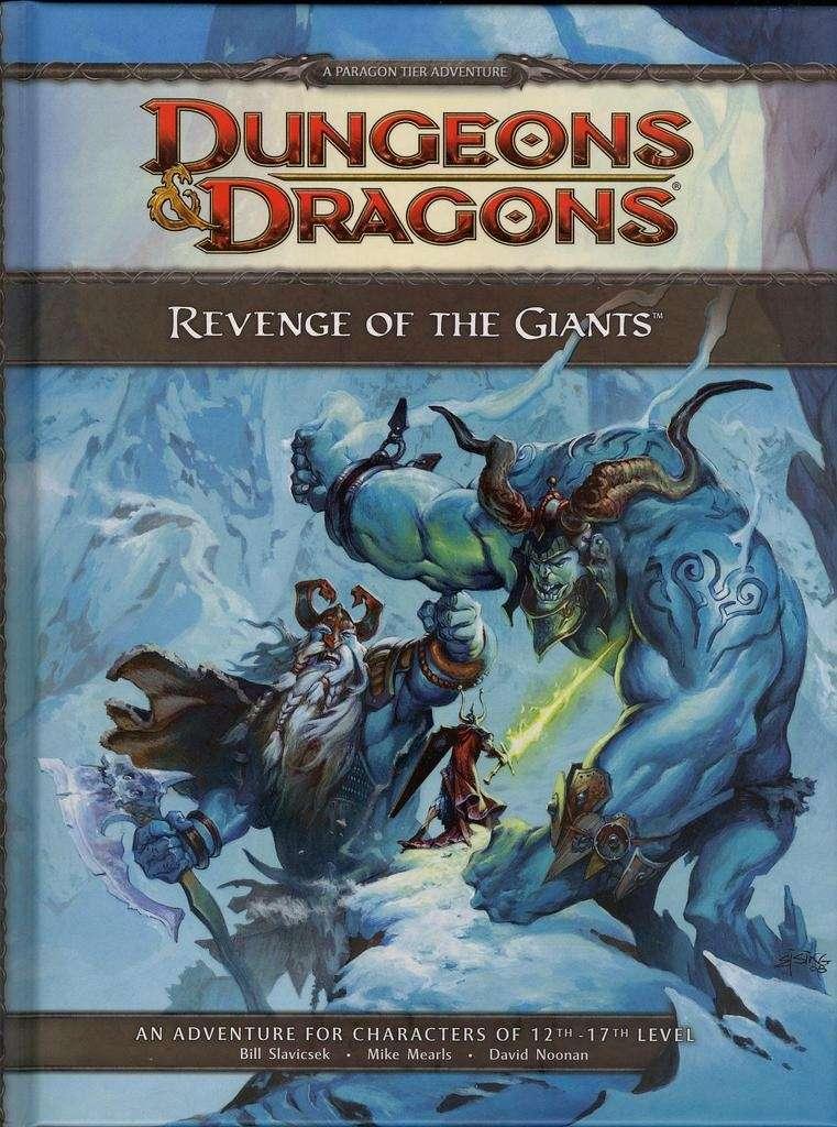 Cover of Revenge of the Giants