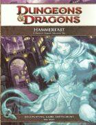 Hammerfast: A Dwarven Outpost Adventure Site (4e)