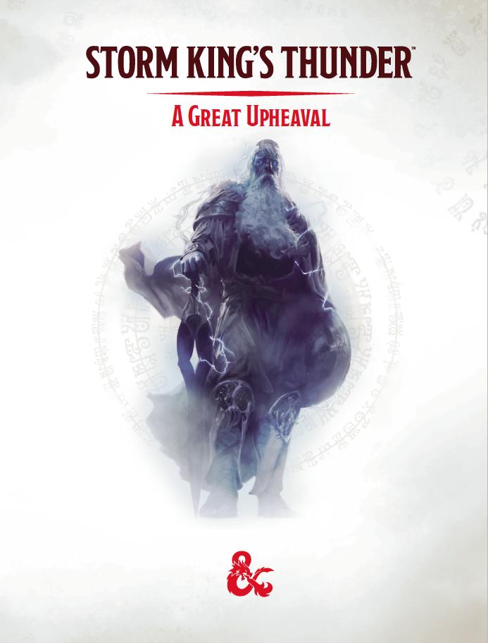 DDIA05 Storm King's Thunder: A Great Upheaveal (5e)