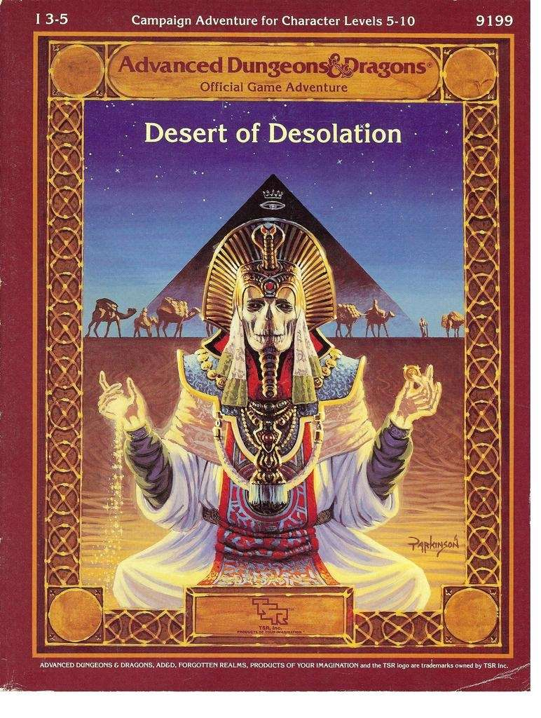 I3-5 Desert of Desolation (1e)