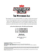 DDAL05-18 The Mysterious Isle (5e)