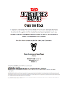 DDAL07-02 Over the Edge (5e)