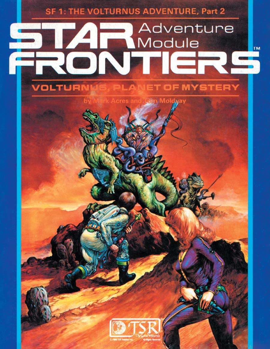 Star Frontiers: (SF1) Volturnus, Planet of Mystery - Wizards of ...