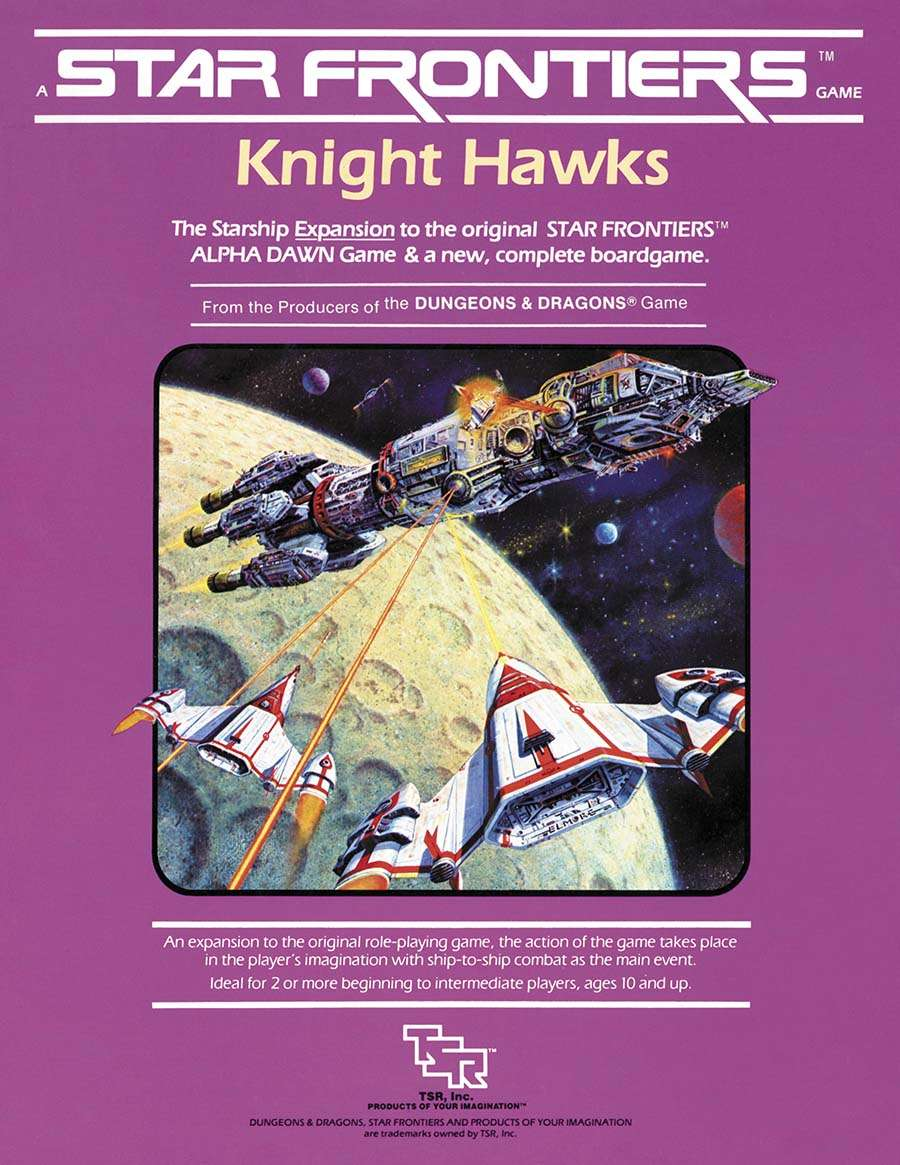 Cover of the Knight Hawks supplement