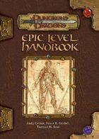 Epic Level Handbook (3e)