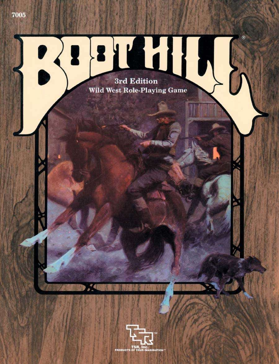 Boot Hill Wild West Role-Playing Game (3rd Edition