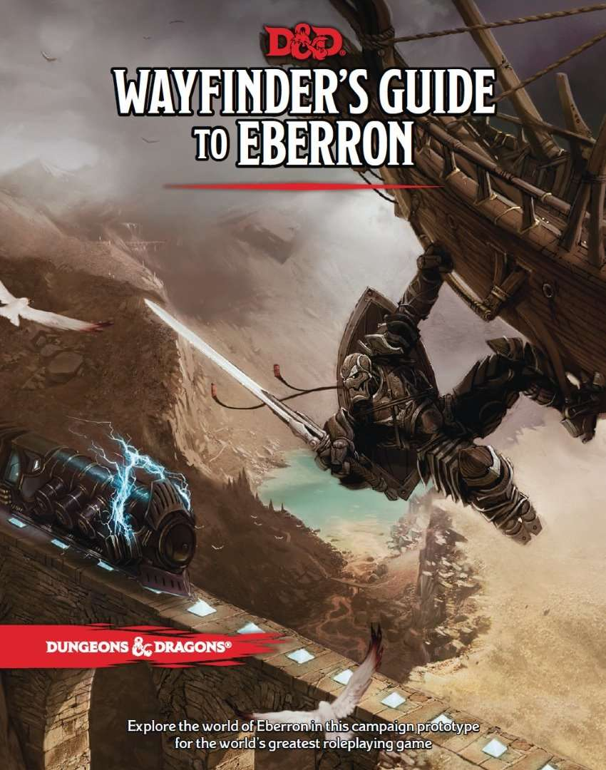 Wayfinder's Guide to Eberron (5e) - Wizards of the Coast