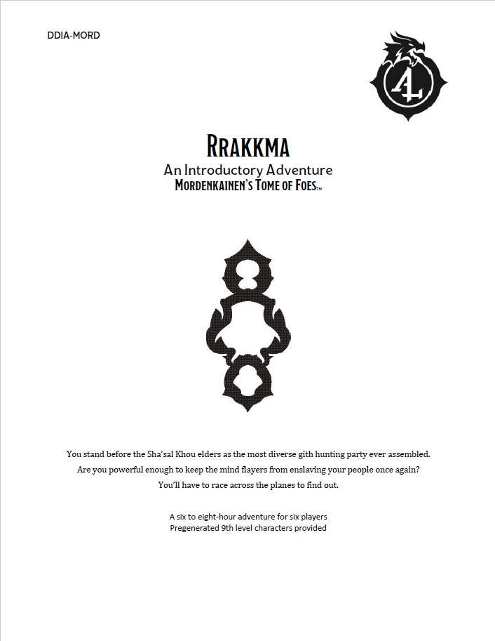 DDIA-MORD Rrakkma (5e) - Wizards of the Coast | Dungeon Masters Guild