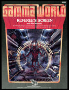 Gamma World Referee's Screen and Mini-Module