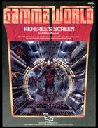 Gamma World Referee's Screen and Mini-Module