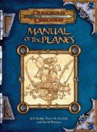 Manual of the Planes (3e)