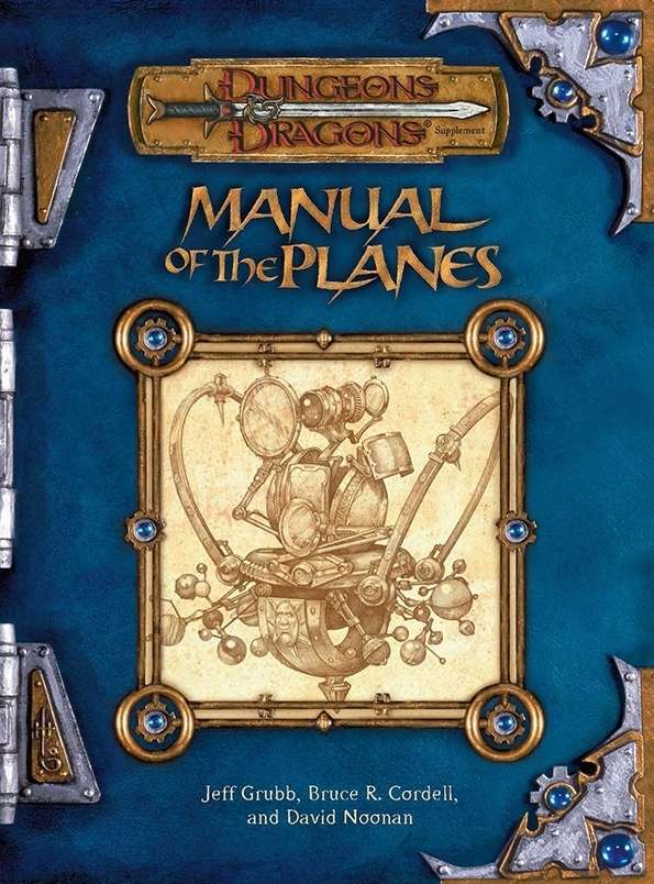 Manual of the Planes (3e) Cover