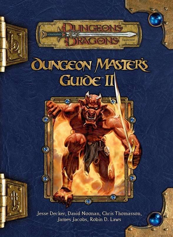 dungeon master 39 s guide ii 3 5 wizards of the coast dungeons dragons 3 x dungeons. Black Bedroom Furniture Sets. Home Design Ideas