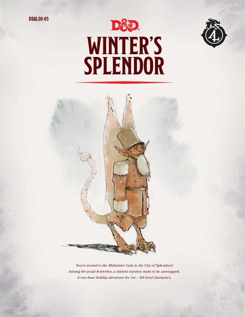 DDAL00-05 Winter's Splendor (5e)