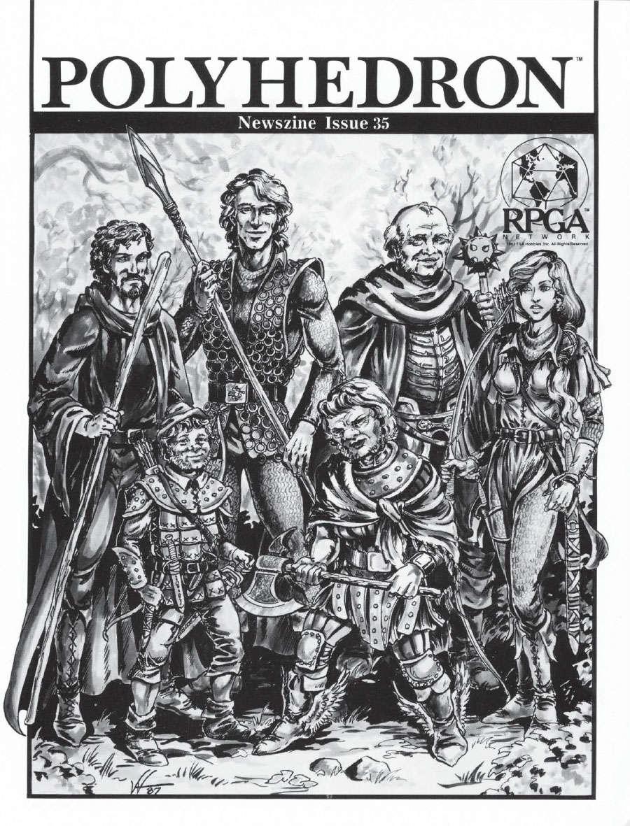 Polyhedron Newszine V7 #2 Issue 35