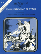 R2: The Investigation of Hydell (1e)