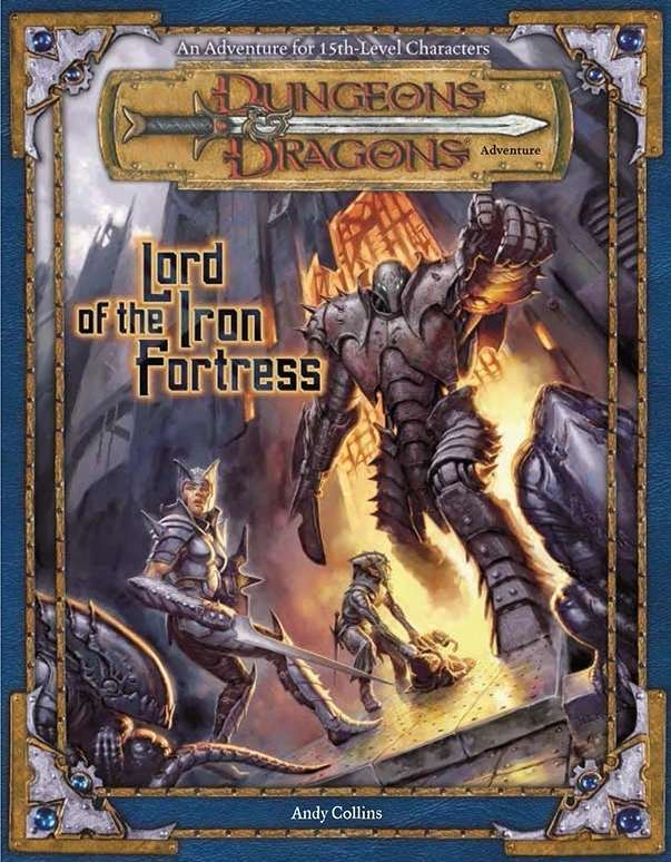 Cover of Lord of the Iron Fortress