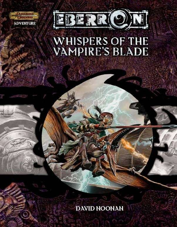 Cover of Whispers of the Vampire's Blade