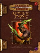 Complete Psionic (3.5)