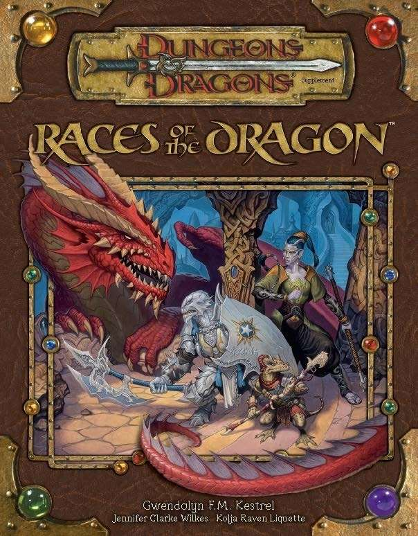 races of the dragon 3 5 wizards of the coast dungeons dragons 3 x dungeons dragons 3. Black Bedroom Furniture Sets. Home Design Ideas