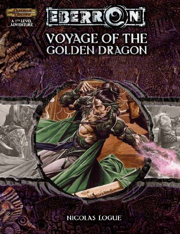 Cover of Voyage of the Golden Dragon