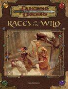 Races of the Wild (3.5)