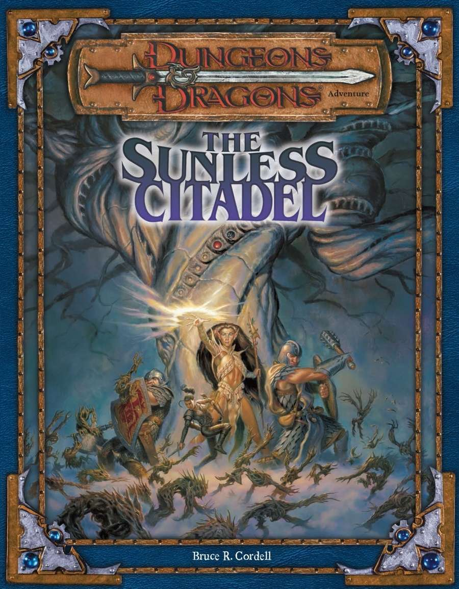 Cover of The Sunless Citadel 3.0