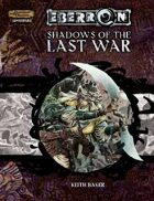 EBERRON: Shadows of the Last War (3.5)