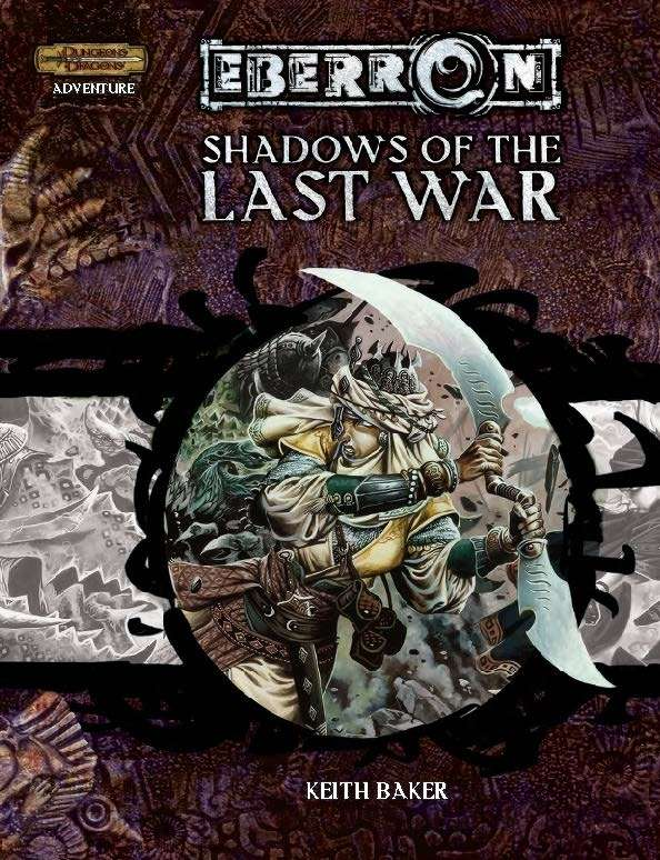 Cover of Shadows of the Last War