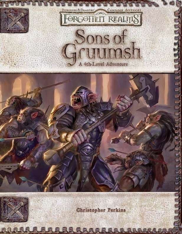 Cover of Sons of Gruumsh