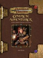 Complete Adventurer (3.5)
