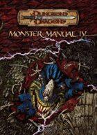 Monster Manual IV (3.5)