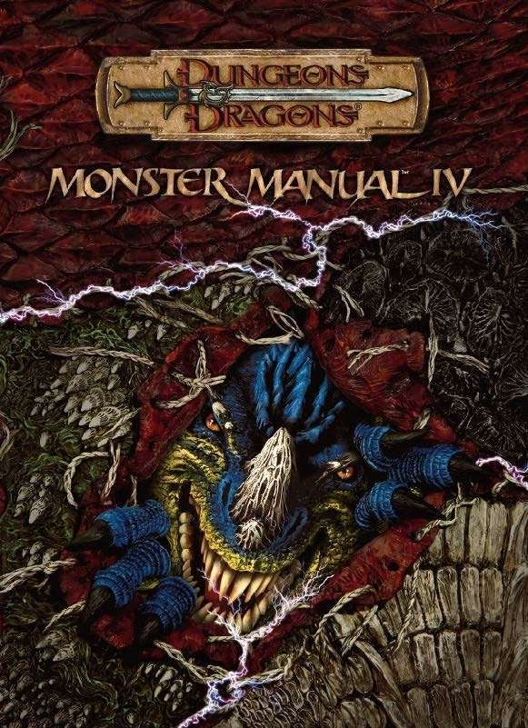 monster manual iv 3 5 wizards of the coast dungeons dragons rh dmsguild com monster manual 2 4e pdf monster manual 2 4e pdf