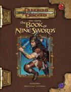 Tome of Battle: The Book of Nine Swords (3.5)