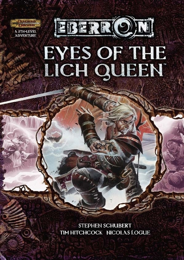 Cover of Eyes of the Lich Queen