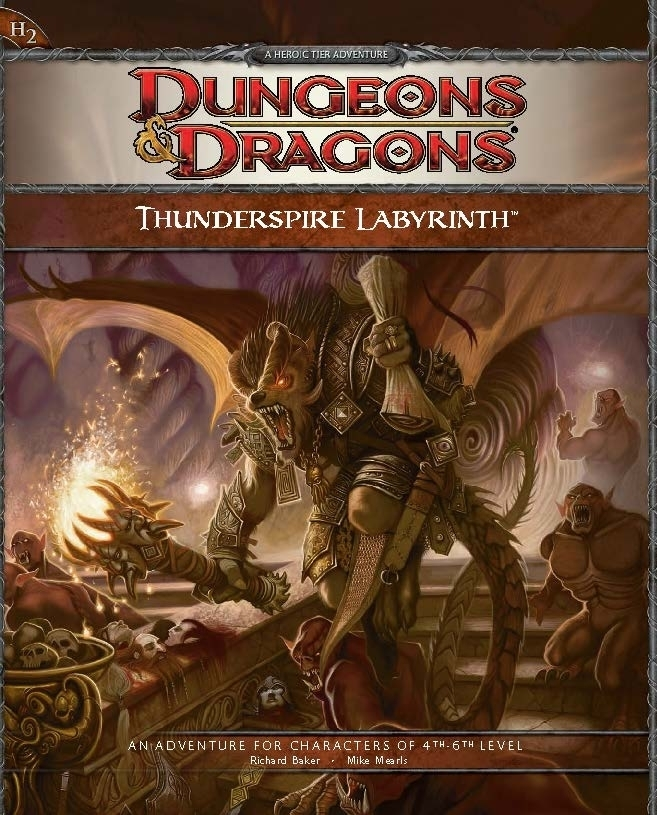 Cover of H2 Thunderspire Labyrinth