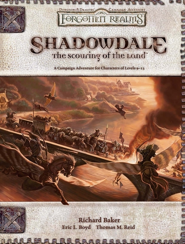 Cover of Shadowdale: The Scouring of the Land