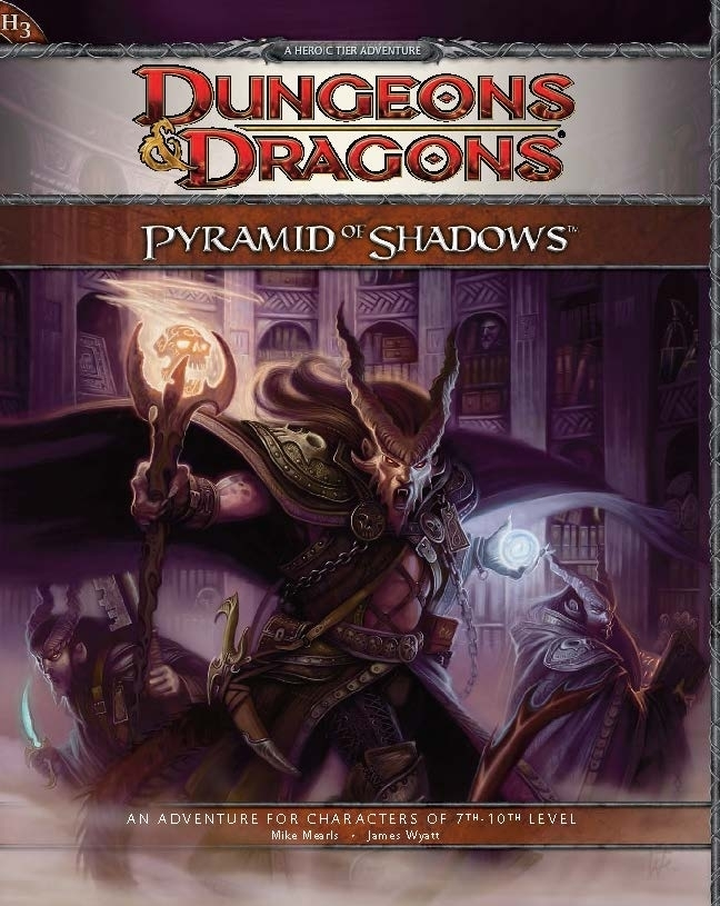 Cover of H3 Pyramid of Shadows