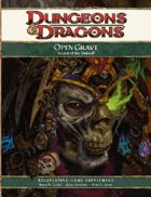 Open Grave: Secrets of the Undead (4e)