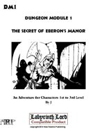 DM1 The Secret of Eberon's Manor