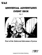 Universal Adventures Event Deck