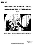 Universal Adventures Mound of the Lizard King