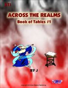 Across the Realms: Book of Tables #1